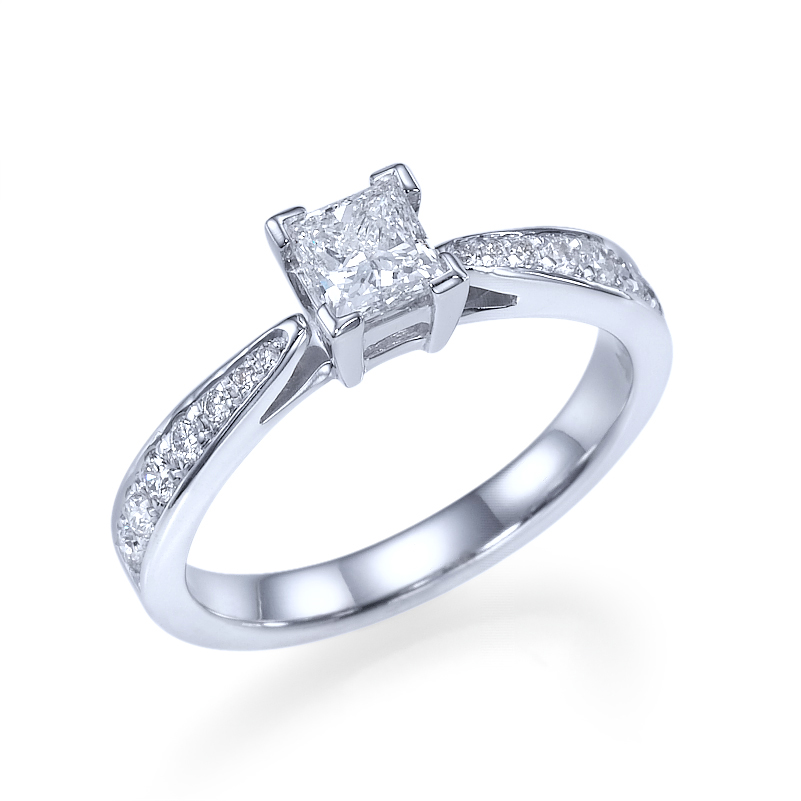 princess cut woman diamond engagement ring atlanta