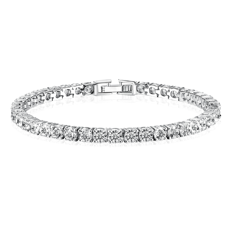 woman white gold bracelet atlanta