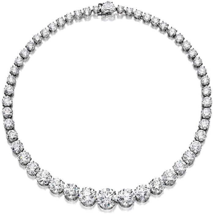 women diamond necklace atlanta
